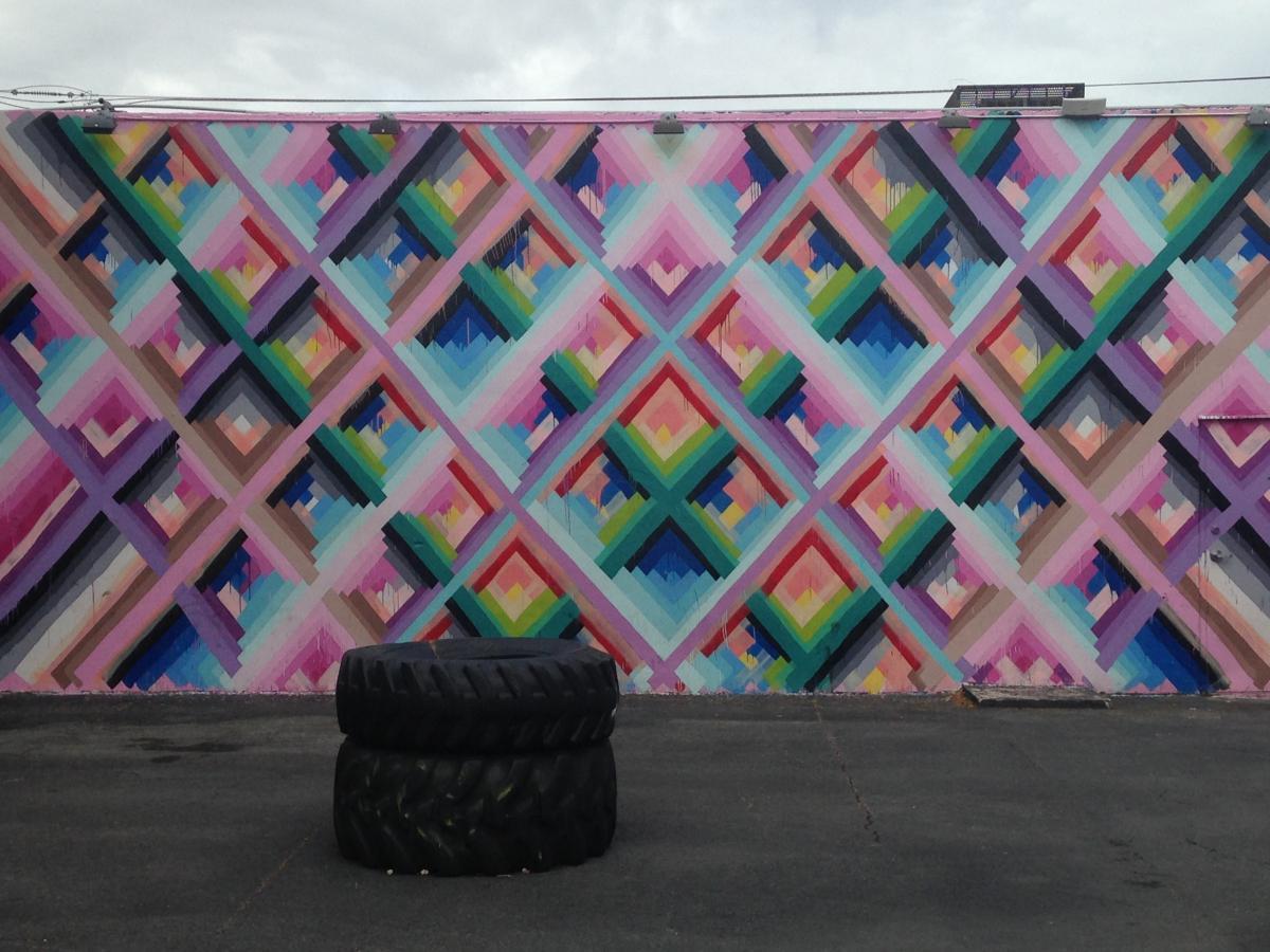 Maya Hayuk street art
