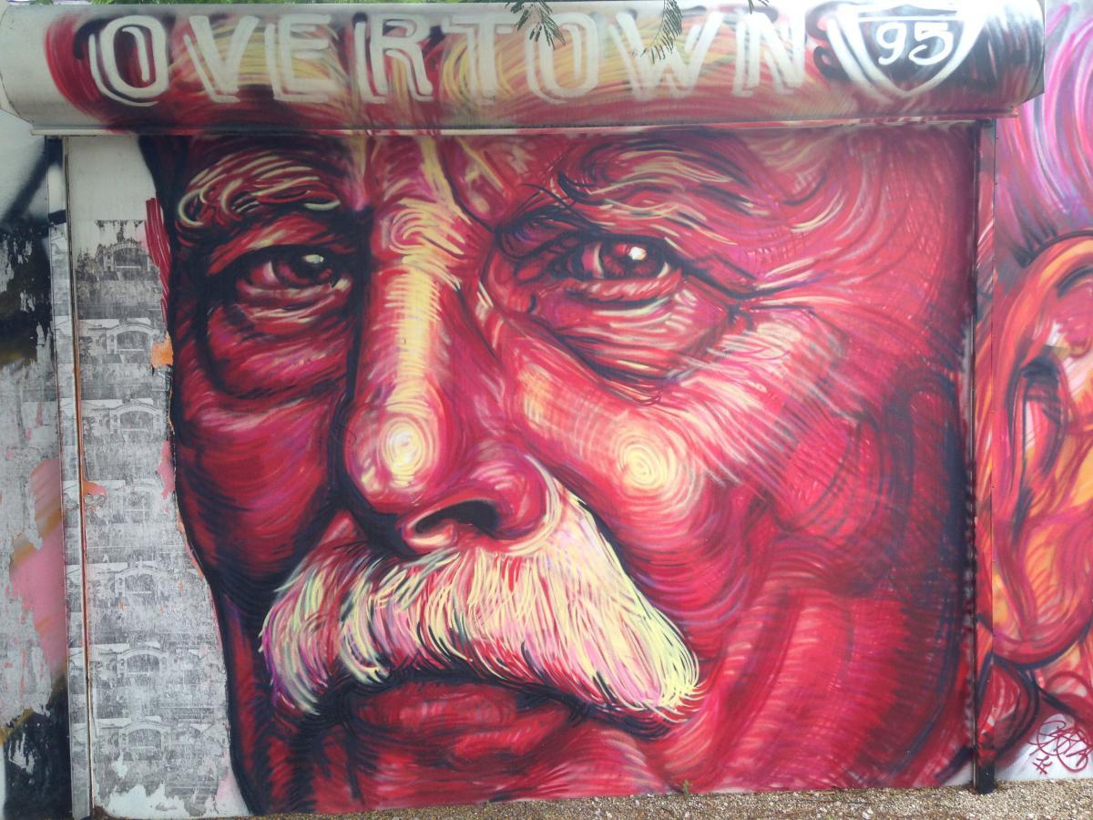 Gaia street art miami