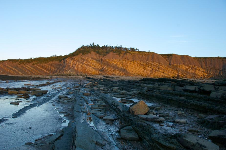 Joggins Fossil Cliffs in Nova Scotia's Annapolis Valley