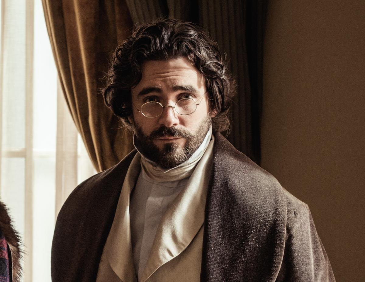 Allan Hawco in character for Frontier