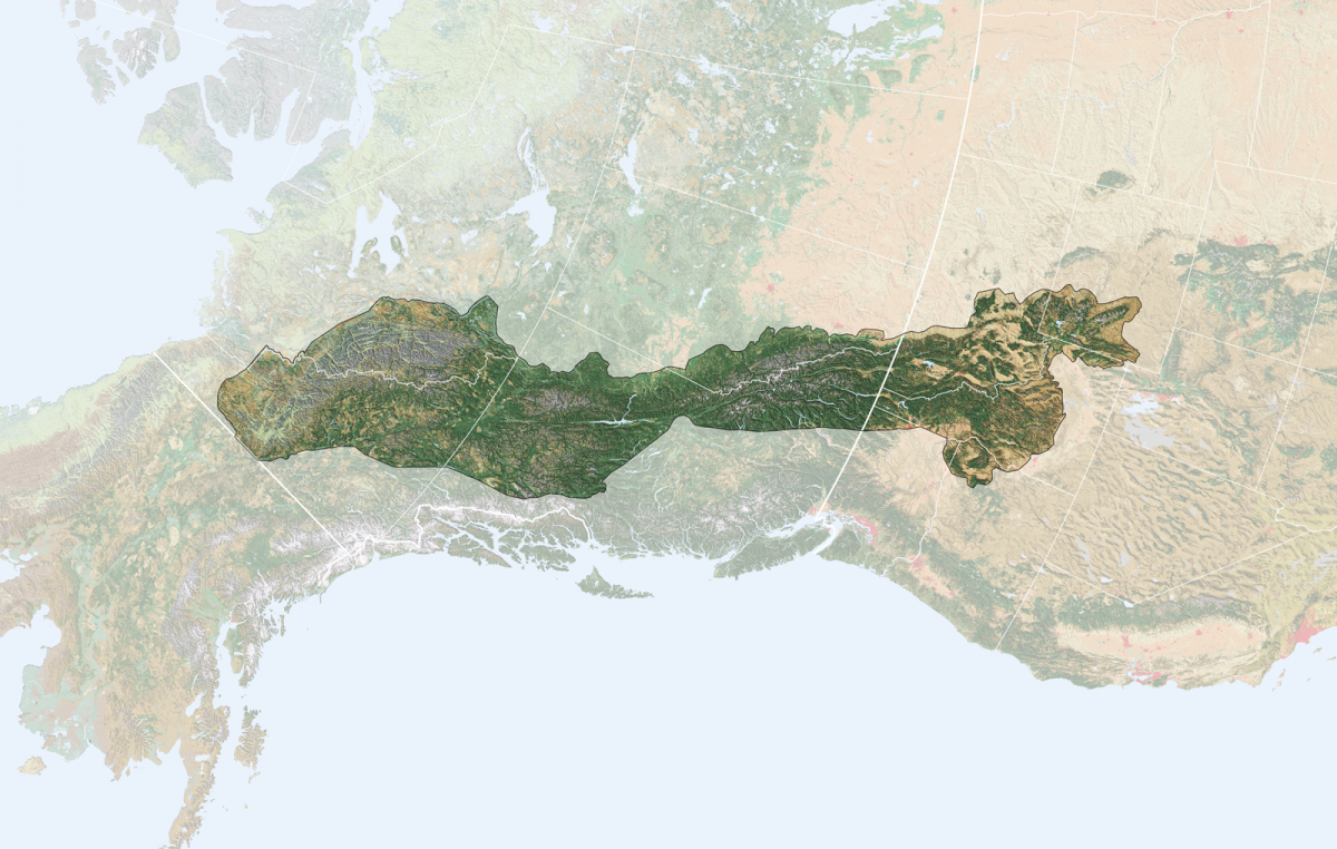 Yellowstone to Yukon Conservation Initiative map