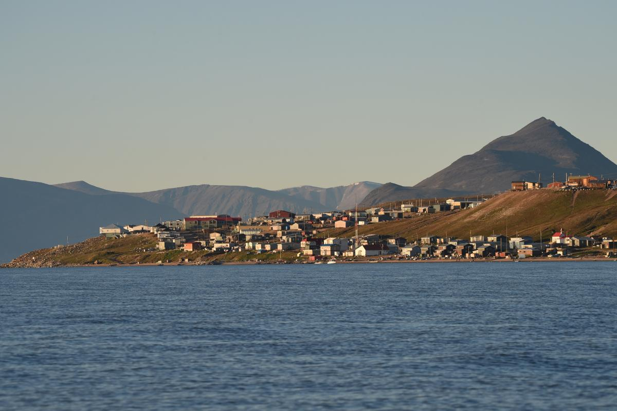 Pond Inlet in August