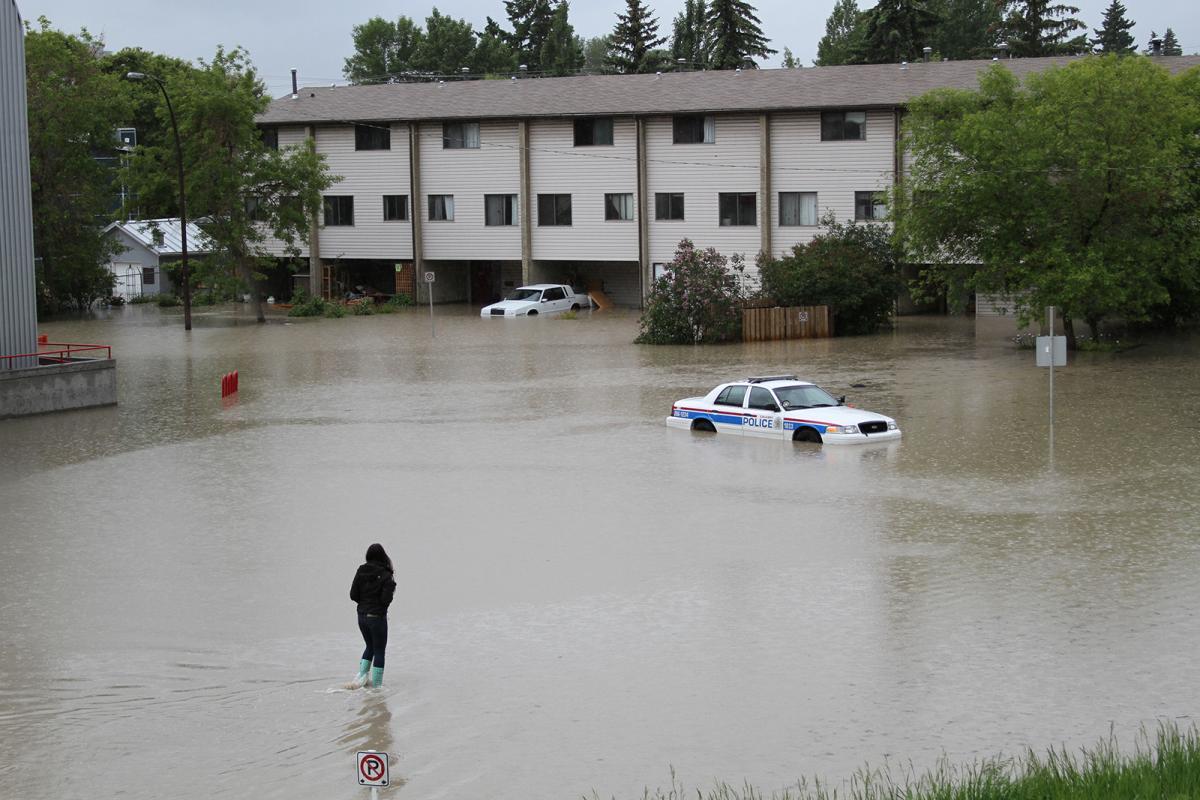 Flooding in Calgary, 2013