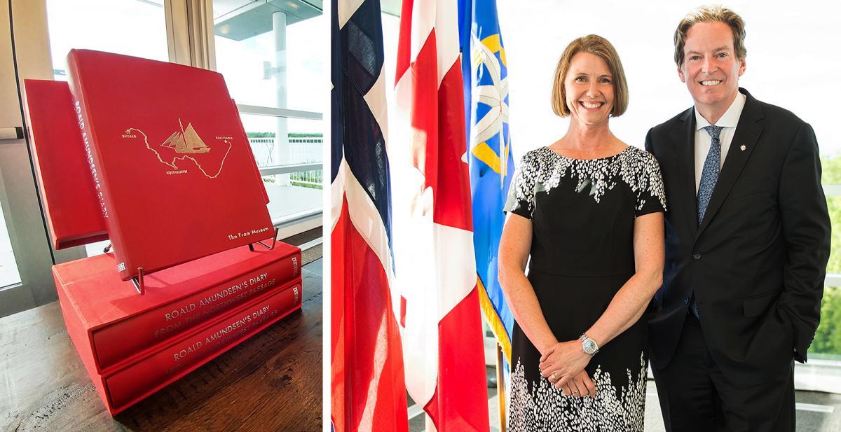 Canada Embassy of Norway Royal Canadian Geographical Society Roald Amundsen