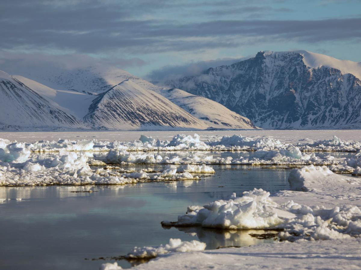 floe edge Mittimatalik Pond Inlet Nunavut Jill Heinerth