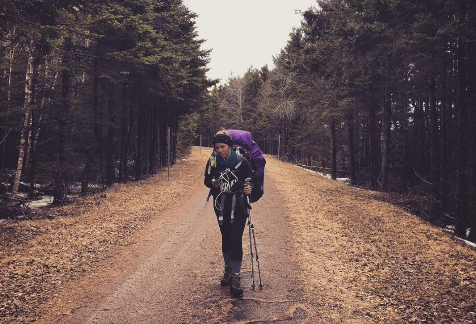 Sarah Jackson, The Great Trail, day 428