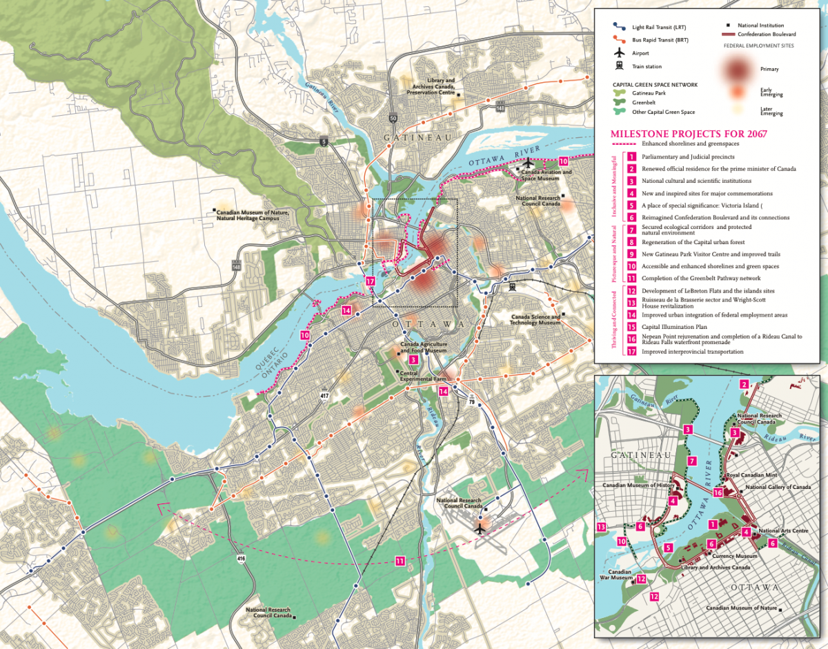 Mapping the future of Canadas capital Canadian Geographic