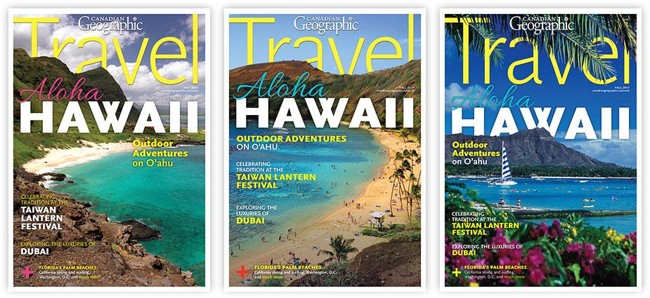Help us choose the Fall 2017 Canadian Geographic Travel