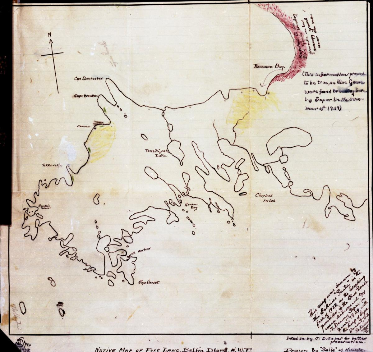 Map Of Canada 60th Parallel.The Inuit Map That Helped A Canadian Naturalist Unravel An