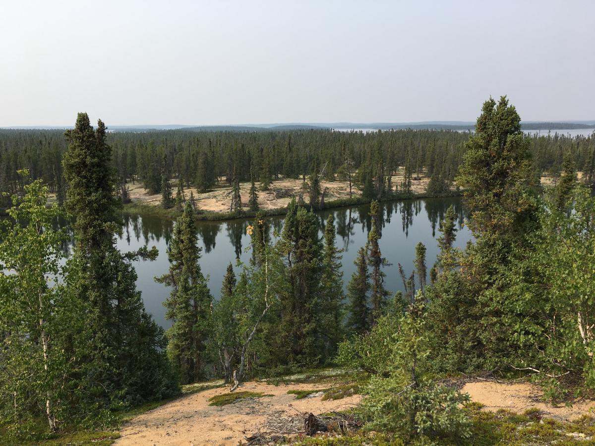 Central Esker, northwestern Manitoba