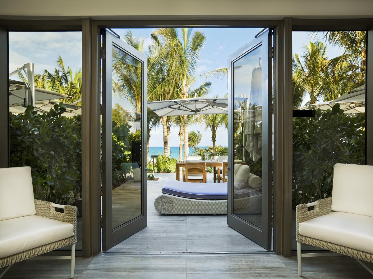 The St. Regis Bal Harbour oceanfront day villa