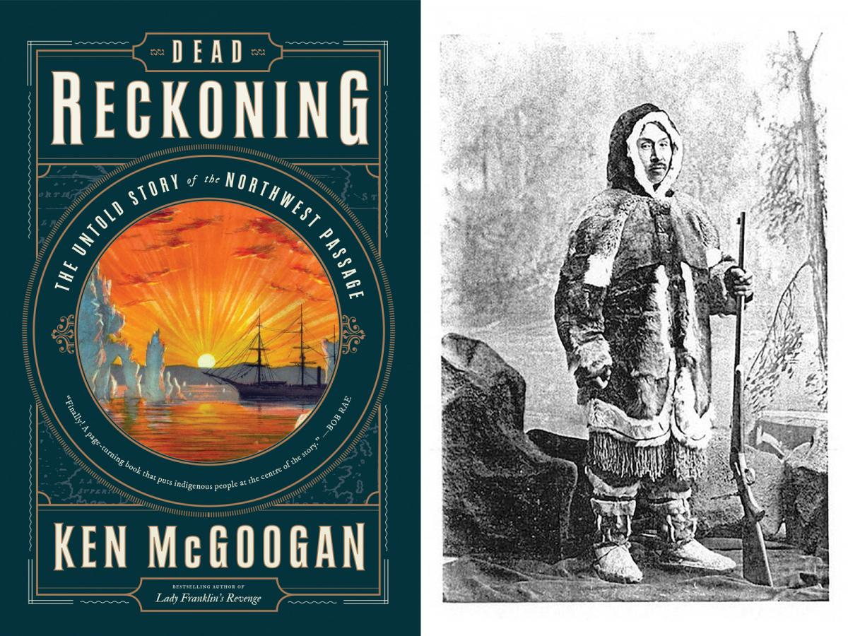 Dead Reckoning by Ken McGoogan cover woodcut Ebierbing