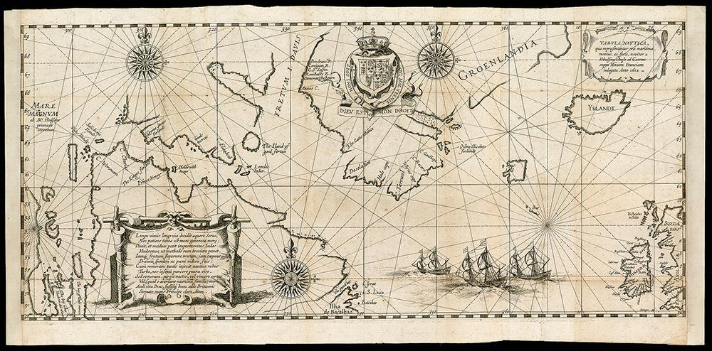 Hessel Gerritsz, Tabula nautica qua repraesentantur orae maritimae