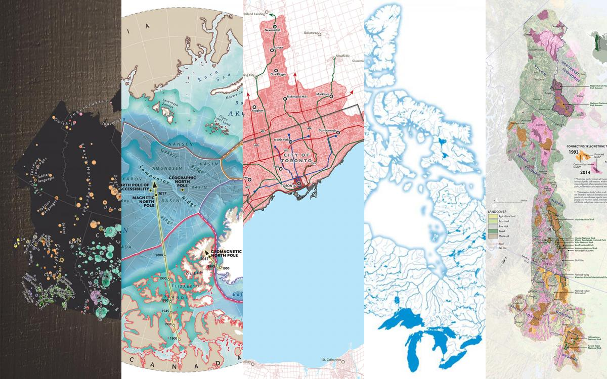 the best maps Canadian Geographic published in 2017