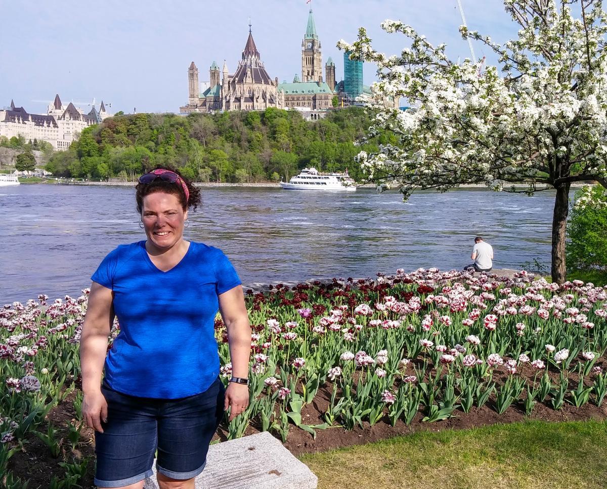 Social Studies teacher Helen Smith-MacPhail