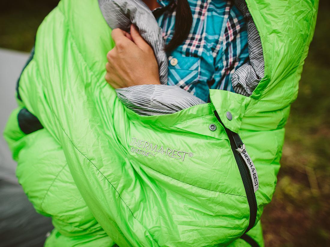 Therm-a-Rest Questar HD sleeping bag