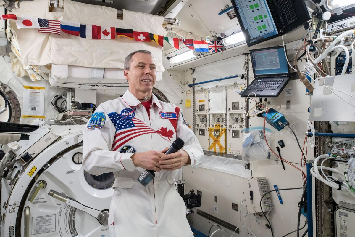 International space station, NASA, space, astronaut, Drew Feustel, ISS Commander