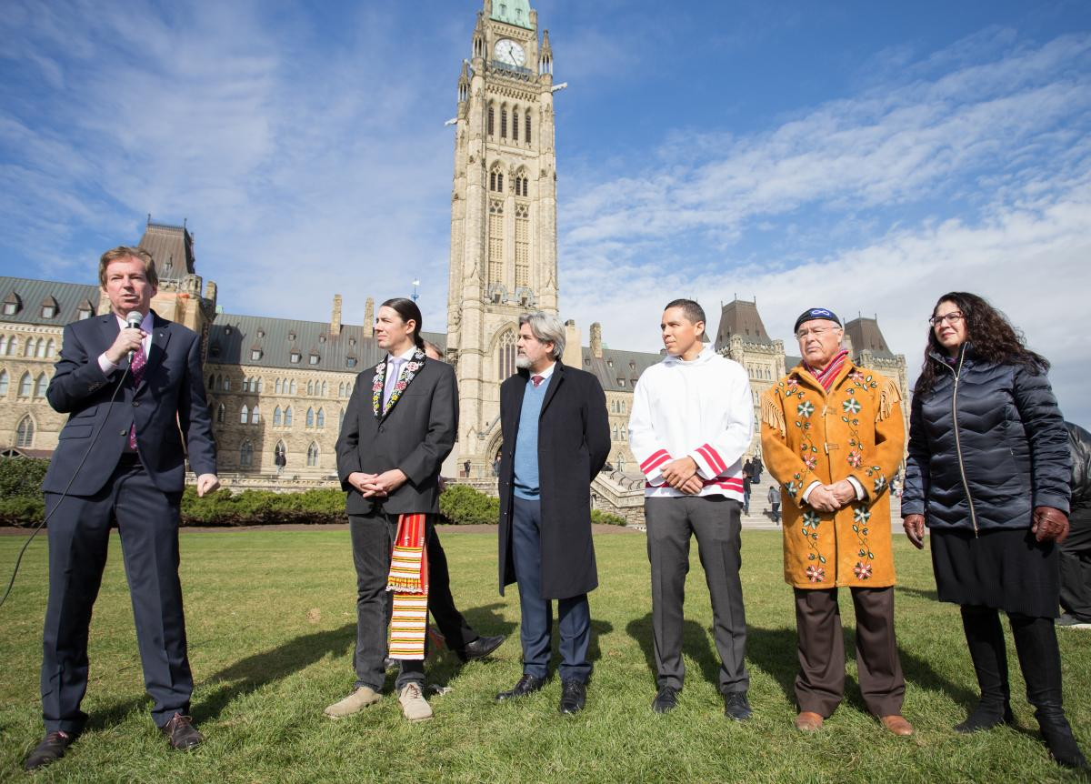 Indigenous Peoples Atlas of Canada, teacher's guide and Giant Floor Map launch