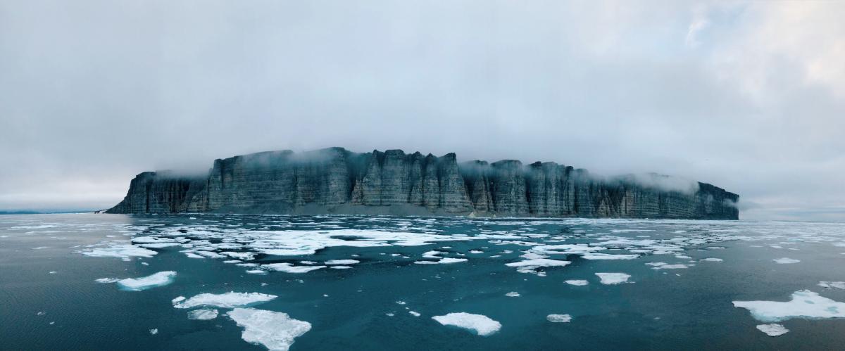 Prince Leopold Island migratory bird sanctuary, nunavut, sea ice, Arctic