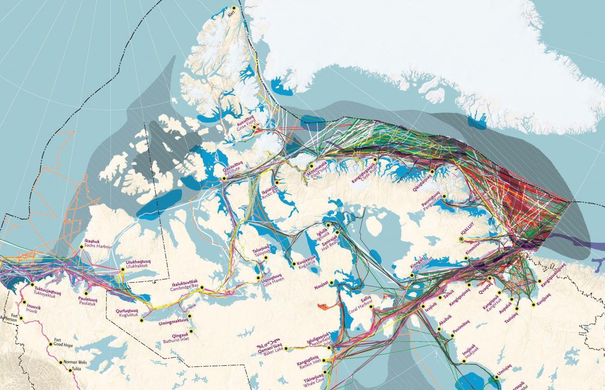 Marine mammal habitats in Canada's Arctic