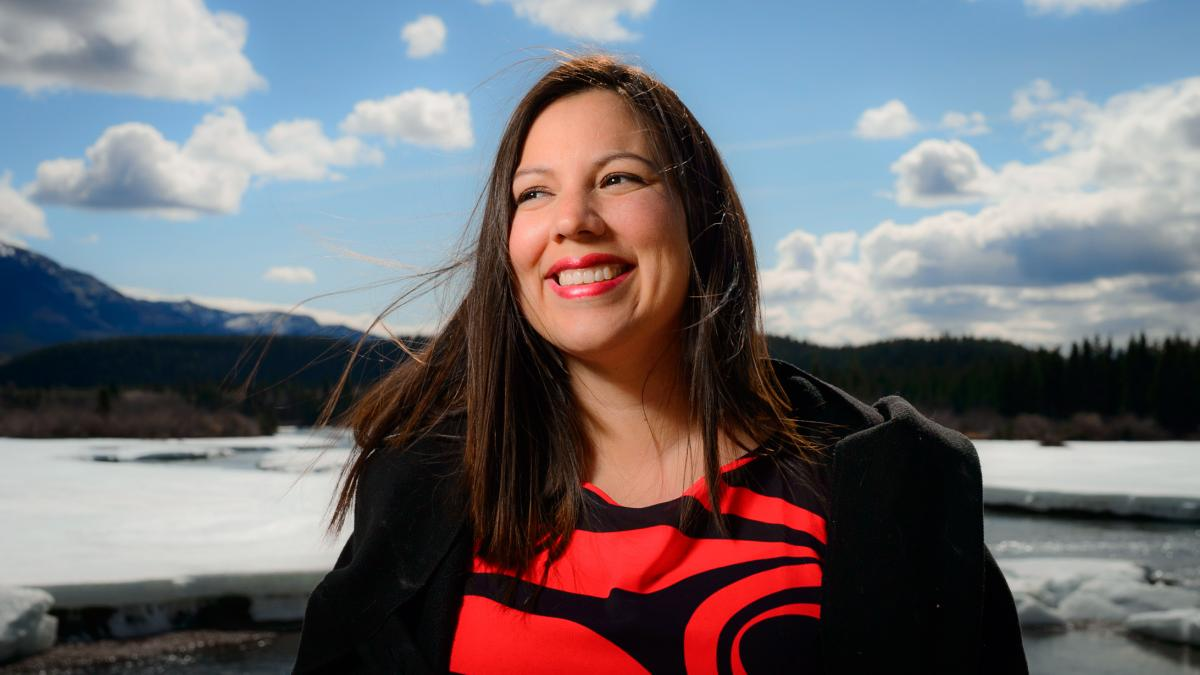Jocelyn Joe-Strack, a geographer and scientist from the Champagne and Aishihik First Nations