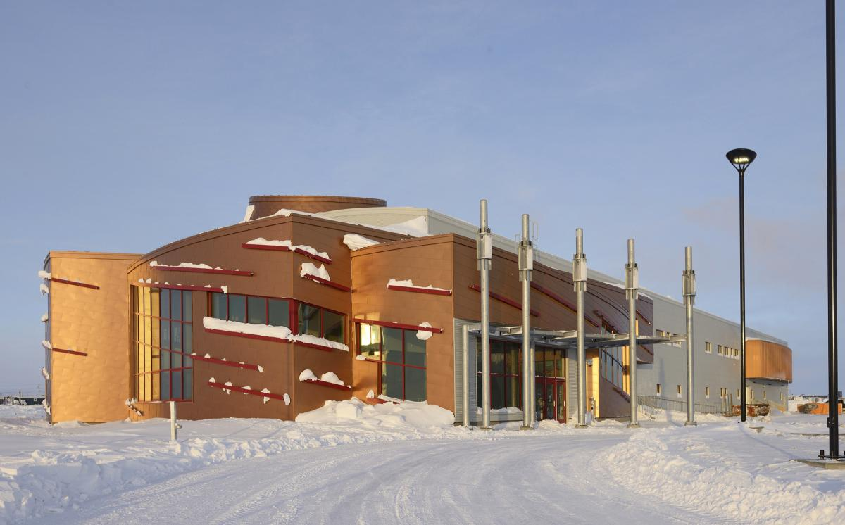 CHARS, Canadian High Arctic Research Station, laboratories, Cambridge Bay, Nunavut, North
