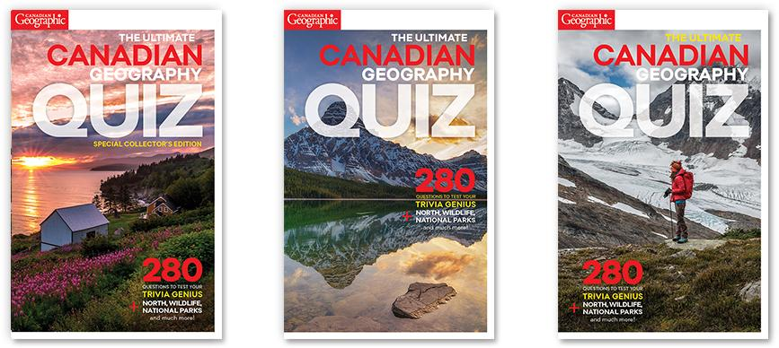Help us choose the cover for The Ultimate Canadian Geography