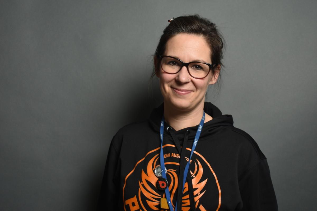 Ontario geography teacher Sara Anderson
