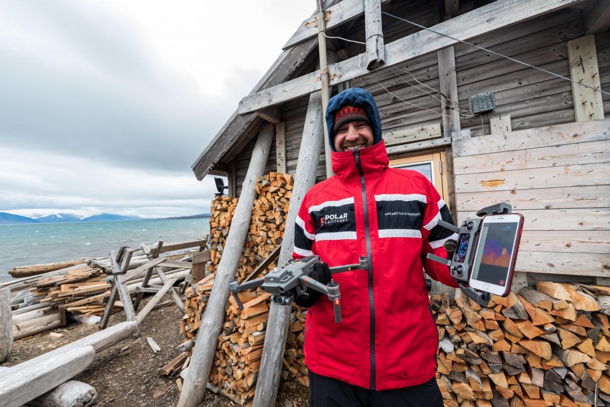 British Columbia professor uses drone technology in Svalbard