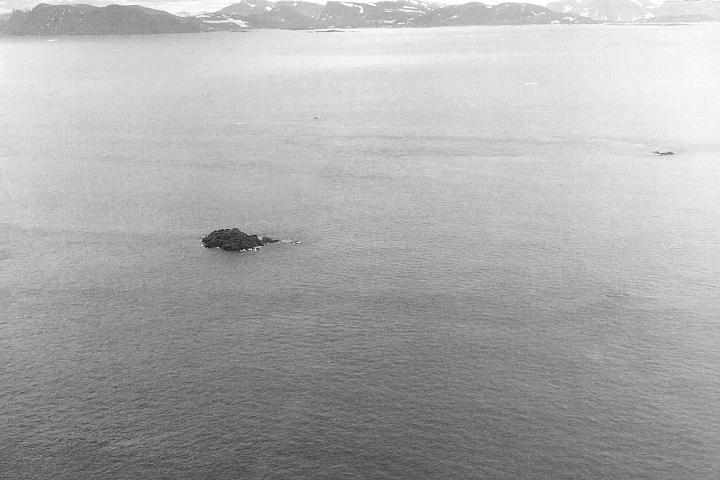 Landsat Island off the coast of Labrador