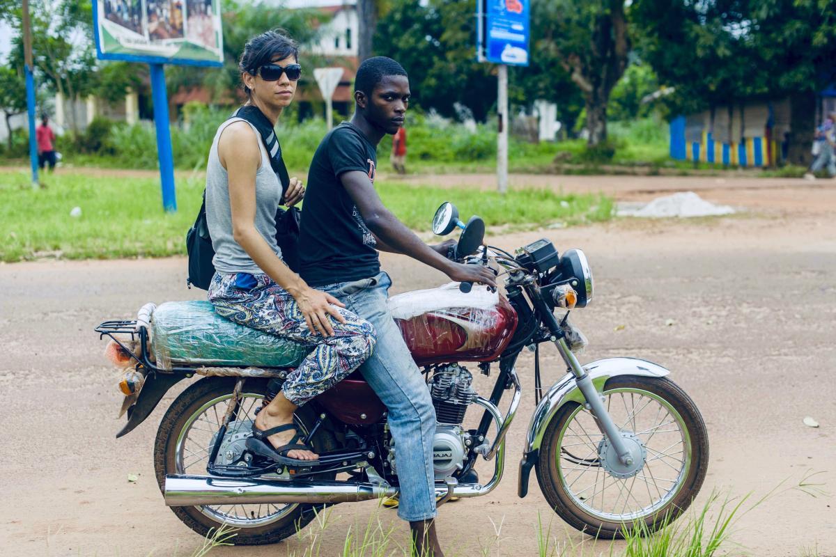 Gina Rae La Cerva wild meat trail DRC