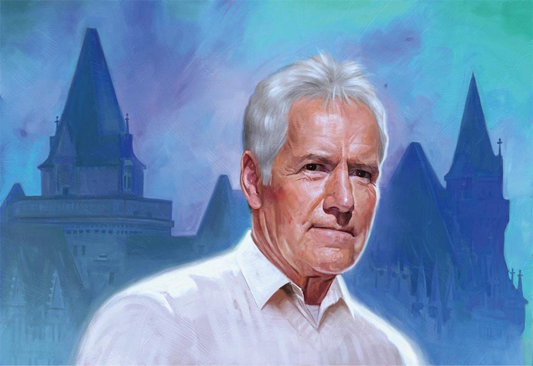 Alex Trebek illustrated by Robert Carter