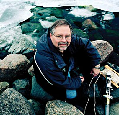John Smol is one of the world's leading Arctic researchers