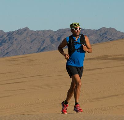 Ray Zahab recently ran more than 2,000 kilometres across Mongolia's Gobi Desert.