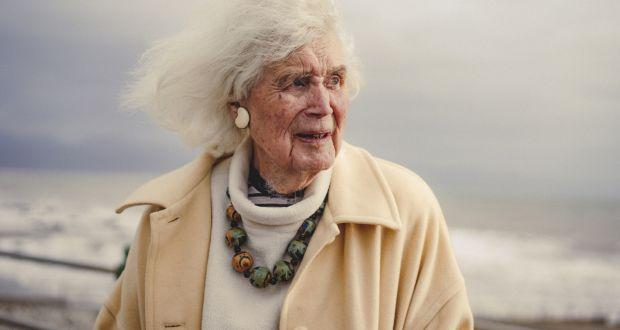 Jan Morris at coast