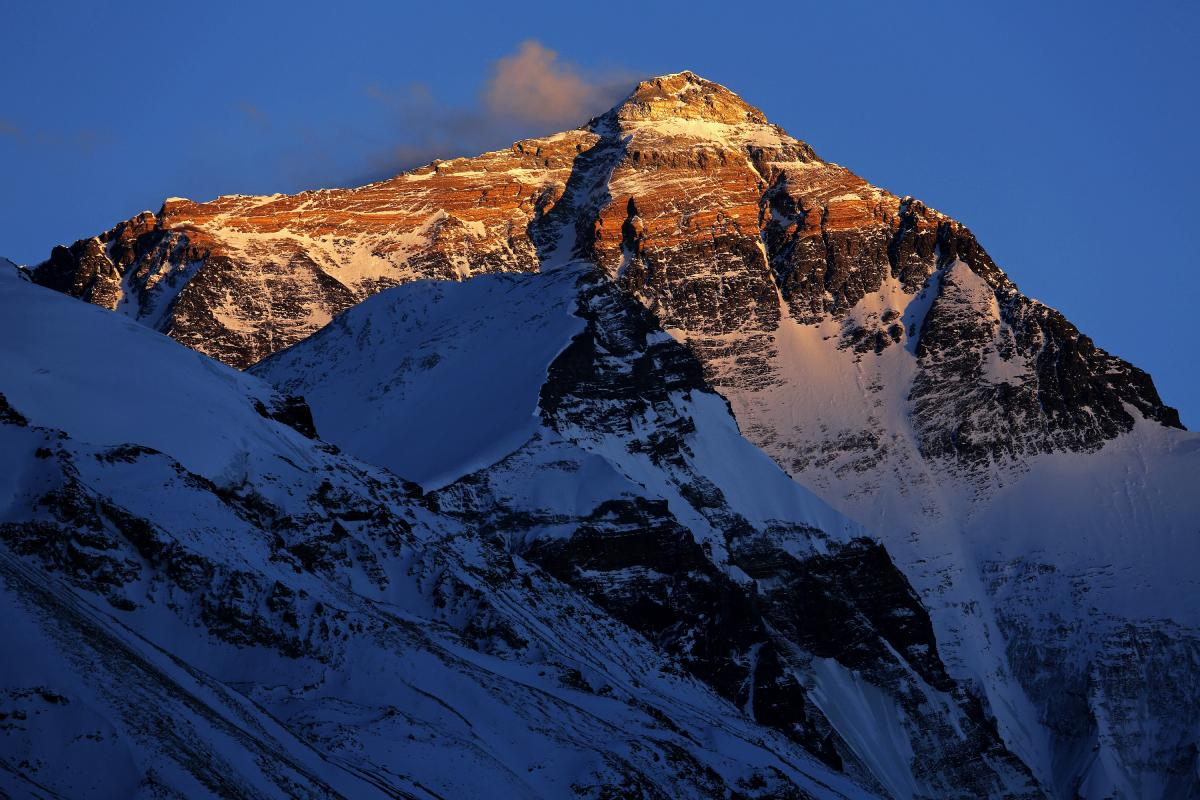 Everest by sunrise