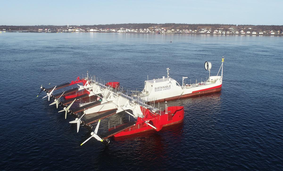 Tidal energy infrastructure