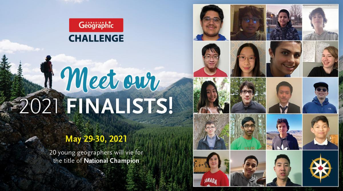 Challenge finalists