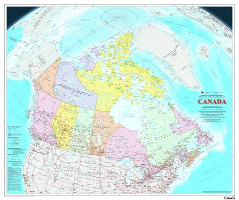 Natural Resources Map Of Canada Natural Resources Canada releases new Atlas of Canada | Canadian