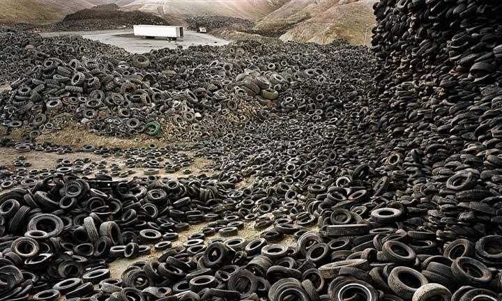 Oxford Tire Pile #1, Westley, California, USA, 1999